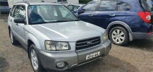 2003 Subaru Forester MY03 X Silver 4 Speed Automatic Wagon Lansdowne Bankstown Area Preview