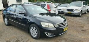2007 Toyota Aurion GSV40R Prodigy Black 6 Speed Auto Sequential Sedan Lansdowne Bankstown Area Preview