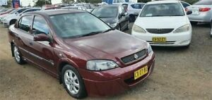 2003 Holden Astra TS CD Maroon 4 Speed Automatic Hatchback Lansdowne Bankstown Area Preview