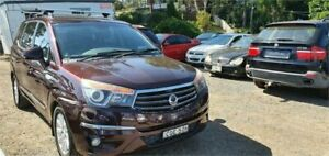 2013 Ssangyong Stavic A100 MY13 Maroon 5 Speed Automatic Wagon Lansdowne Bankstown Area Preview