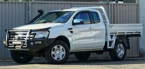 2014 Ford Ranger PX XLT 3.2 (4x4) White 6 Speed Automatic Super Cab Utility Lismore Lismore Area Preview