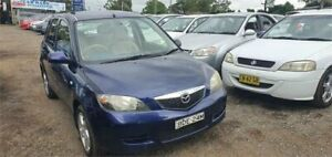 2003 Mazda 2 DY Maxx Blue 5 Speed Manual Hatchback Lansdowne Bankstown Area Preview