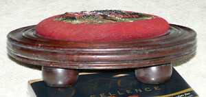 New Price - Antique Victorian Beaded Foot Stool Kingston Kingston Area image 8