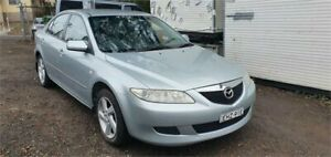 2004 Mazda 6 GG Classic Silver 5 Speed Manual Hatchback Lansdowne Bankstown Area Preview