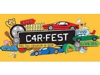 Pair of Carfest weekend tickets 27-29 July