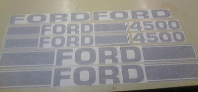 Ford 4500 Tractor Loader Decals