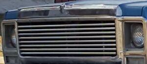 Rare 73 - 80 Chevy GMC Truck Stainless steel hood trim / Cap