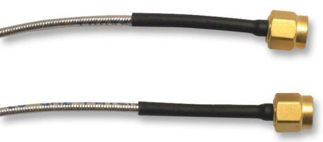 Cable Assemblies - RF - Coaxial - CABLE ASSEMBLY HF SMA M/M 0.25M