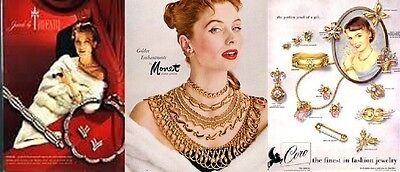 Vintage lover's jewelry shop