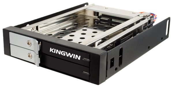 Kingwin KF-251-BK Dual 2.5in SATA Hot Swap Mobile Rack