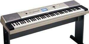Yamaha 88 Key Full Sized Piano Keyboard portable Grand Neg.