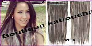 "CLIP IN hair extension,Straight hair, 24"", Color GOLDEN BROWN Yellowknife Northwest Territories image 7"