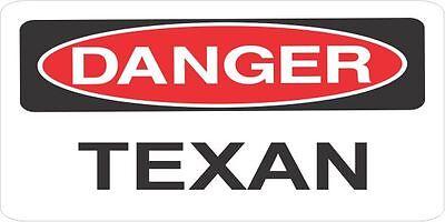 3 Danger Texan Helmethard Hattoolboxlunchbox Sticker Union Hs623