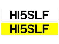Cherished plate for sale 'Hisself' HI5 SLF