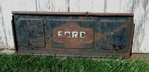 1930's-40's Ford Pickup Tailgate - Wall art