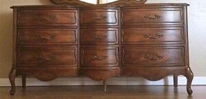 Large serpentine dresser