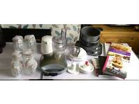 Kitchen baking and cooking bundle including food processor, mini chopper, digital scales and more