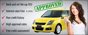 Get a car loan from a company that can actually deliver!