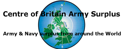 CENTRE of BRITAIN ARMY SURPLUS