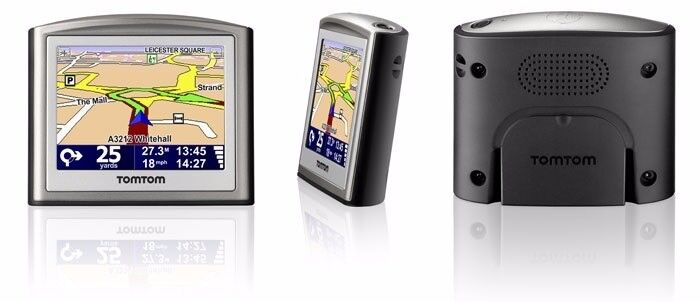 TomTom One Sat Nav with new maps