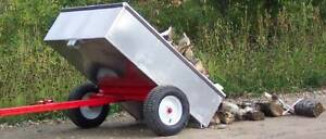 B&H Aluminum Yard Mate Quad Trailer