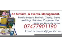 Ac funfairs & events bouncy castle fairground hire funday hire
