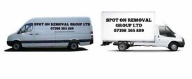 Man & Van hire/ House removals/ business removals/ Pick up- drop off/ Removals