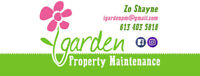 iGarden Property Maintenance: NOW BOOKING FOR JUNE