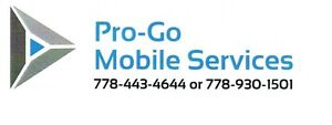Pro - Go Mobile  Enderby - We Come To You