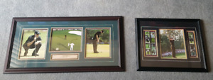 Framed 2003 Mike Weir Masters Autograph 8x10