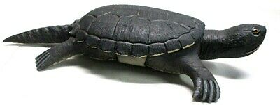 BEAUTIFUL SIGNED SNAPPING TURTLE~FOLK ART FISH SPEARING DECOY CARVING