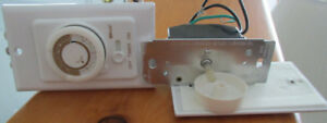 A In Wall Electrical Timer and A In Wall Dimmer Switches