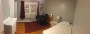 Spacious furnished room for rent / NBCC student wanted