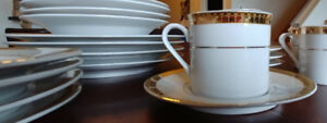 Porcelain China - complete 4 place setting