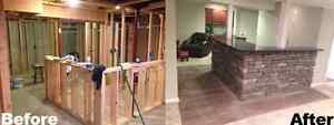 We do all for your basement finishing West Island Greater Montréal image 1