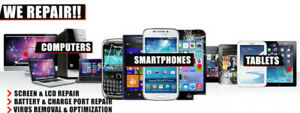 iPHONES REPAIR AND UNLOCKING-We are open today