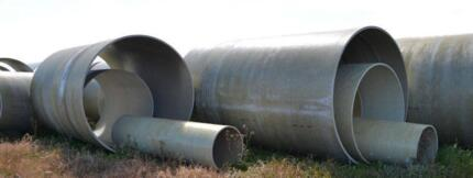 Fibreglass /Pipes/Tanks/culverts/silo/ REDUCED PRICE Milang Alexandrina Area Preview