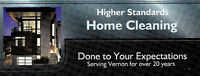 Home cleaning position available in Vernon BC.