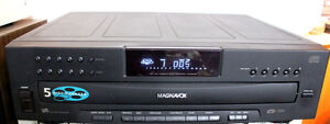 Magnavox 5 cd changer with remote