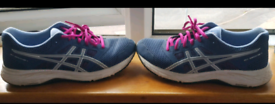 ASICS GEL CONTEND-5 Running Shoe SIZE 7. Great Condition