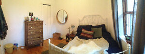 Summer Sublet - 1 bedroom in 4 bedroom apt. in Plateau