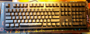 Used Ducky Shiny 5 RGB Keyboard (Blue switches)
