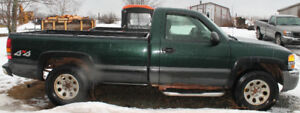 2002 GMC Sierra 4x4 parting out