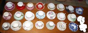 22 sets Teacup and Saucer
