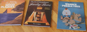 3 Woodworking Books