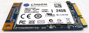 Kingston 24GB SMS151S3/24G mSATA Solid State Drive