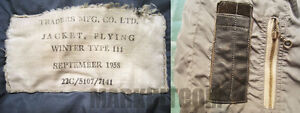 VINTAGE RARE 1950s ROYAL CANADIAN AIR FORCE FLIGHT JACKET COAT Oakville / Halton Region Toronto (GTA) image 9
