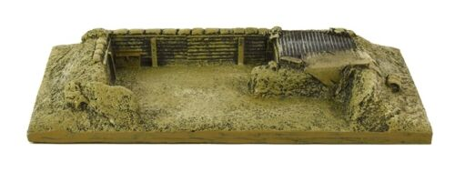 Conflix 6505 Desert/Tropical Ammo Stash Ready Painted Model 28mm Scale -T48 Post