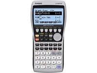 Calculator, Casio fx9860GII SD, with light buttton