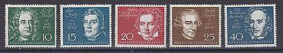 BRD 1959 postfrisch MiNr. 315-319  Einweihung der Beethovenhalle Bonn